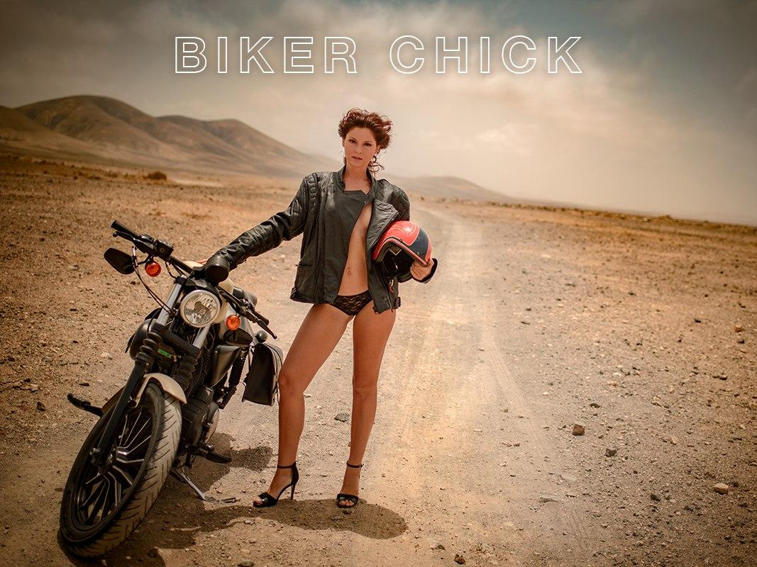 harley yulia biker girl